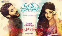 Premam (2016) Telugu Movie Mp3 Songs Pk Download