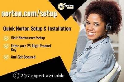 Install the Norton product at Norton.com/setup