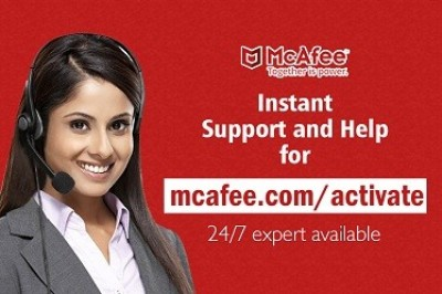 How to activate mcafee products