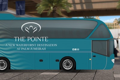 Complementary Shuttle Service in Dubai by The Pointe
