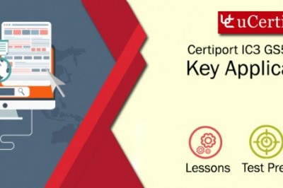 IC3 GS5 Key Applications Exam Guide -uCertify