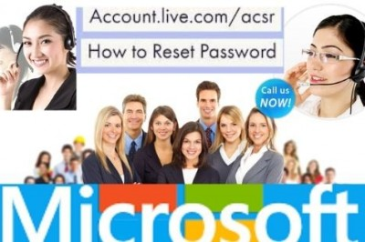 What are the two ways of resetting Account Live password? Call Toll Free 1-800-544-8083
