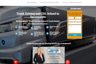 Choose Quality CDL Training Provided by a Good Trucking School Sacramento
