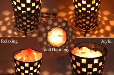 Grab Deal For Thanksgiving Day & Save Up to 42% on Himalayan Glow Basket Night Light
