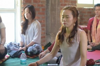 What Meditation actually means – Yoga in Rishikesh – Sanskar Yoga Shala