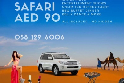 Desert Safari al ain AED 90 | Book now 058 129 6006 | Arabian Desert Safari
