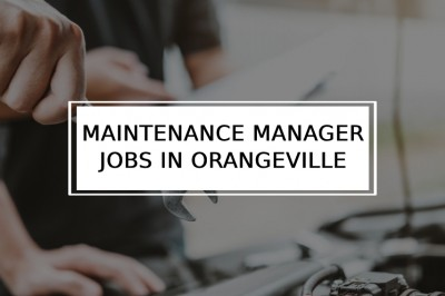 Maintenance Manager Jobs in Orangeville | Materials Manager jobs