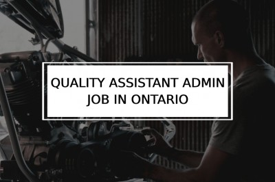 Quality Assistant Jobs in Ontario | Quality Engineer jobs