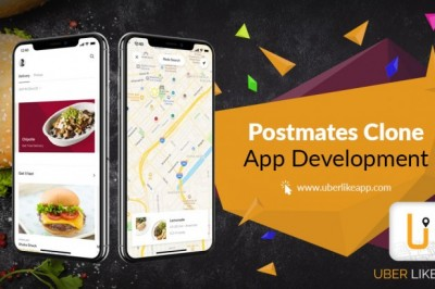 Postmates Clone App - On-demand delivery application