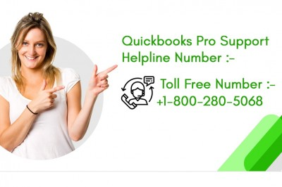 Quickbooks Pro Support | 24*7 Customer Phone Number +1-800-280-5068
