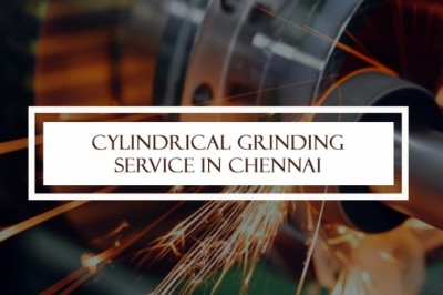Cylindrical Grinding Service in Chennai  | SRS Engineering Works