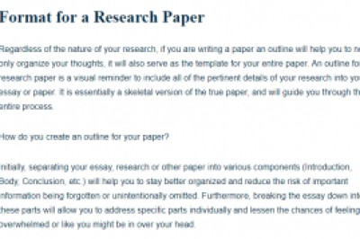 Research Paper Writing Assistance